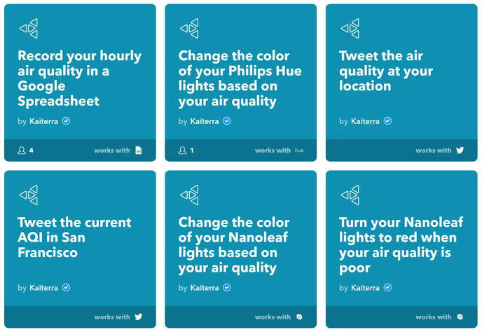 IFTTT applet