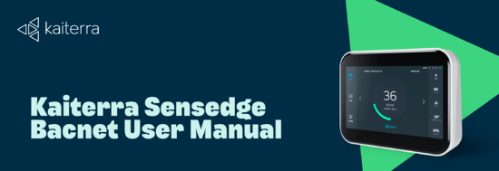 Kaiterra Sensedge Modbus User Manual _ April 2020