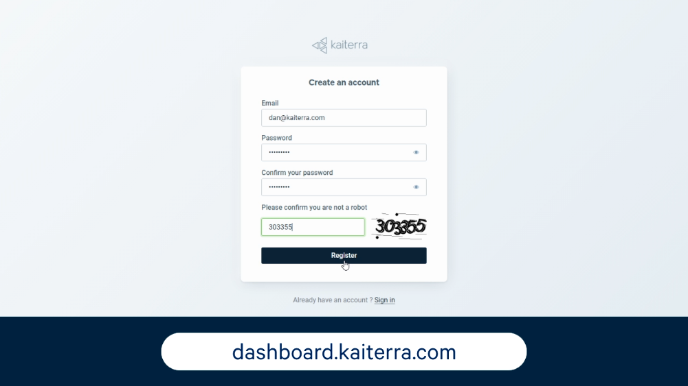 dashboard URL